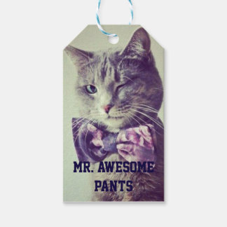 Mr. Awesome Pants Birthday Gift Tags