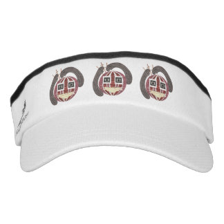 Mr Bauble Visor Hat