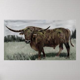 Mr Big Longhorn Poster Prints