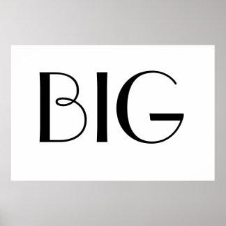 mr. big print