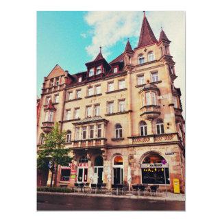 Mr. Bleck - Friedrich-Ebert-Platz, Nuremberg 17 Cm X 22 Cm Invitation Card