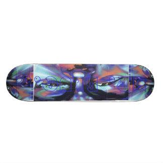Mr. Blue... Skateboard