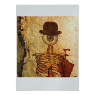 Mr Bone 14 Cm X 19 Cm Invitation Card