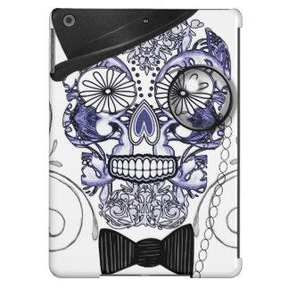 Mr Bones Fun Ornate Sugar Skull Design iPad Air Cases
