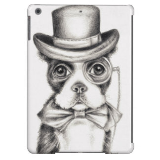 Mr Boston Terrier BW Case For iPad Air