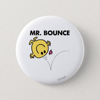 Mr. Bounce | Classic Pose 6 Cm Round Badge