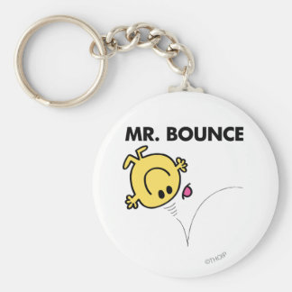 Mr. Bounce | Classic Pose Basic Round Button Key Ring