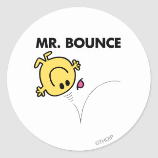 Mr. Bounce | Classic Pose Classic Round Sticker