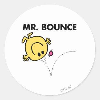 Mr. Bounce | Classic Pose Round Sticker