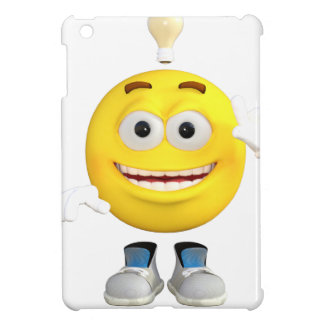 Mr. Brainy the Emoji that Loves to Think iPad Mini Cover