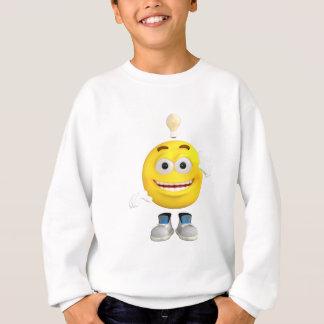 Mr. Brainy the Emoji that Loves to Think Sweatshirt
