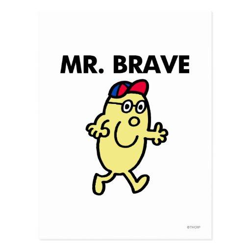 Mr Brave Classic Postcard