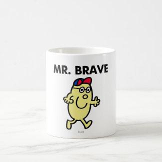 Mr. Brave Waving Hello Coffee Mug