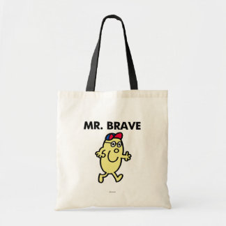 Mr. Brave Waving Hello Tote Bag