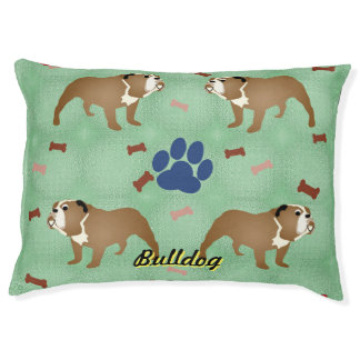 Mr. Bulldog Pet Bed
