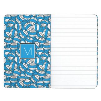 Mr Bump | Blue Confusion Pattern | Monogram Journal
