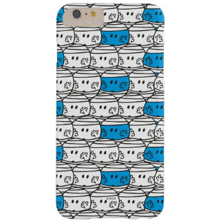 Mr Bump | Blue Pattern Barely There iPhone 6 Plus Case