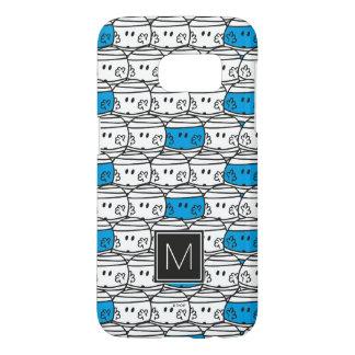 Mr Bump   Blue Pattern   Monogram