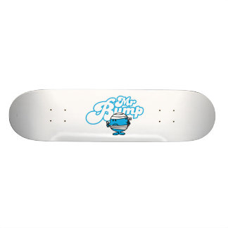 Mr Bump Logo 4 Skate Deck