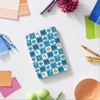 Mr Bump   Mosaic In Blue Pattern iPad Mini Cover