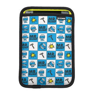 Mr Bump | Mosaic In Blue Pattern iPad Mini Sleeve