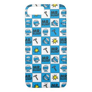 Mr Bump | Mosaic In Blue Pattern iPhone 8/7 Case