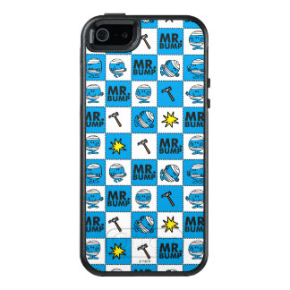 Mr Bump | Mosaic In Blue Pattern OtterBox iPhone 5/5s/SE Case