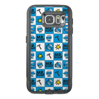 Mr Bump | Mosaic In Blue Pattern OtterBox Samsung Galaxy S6 Case