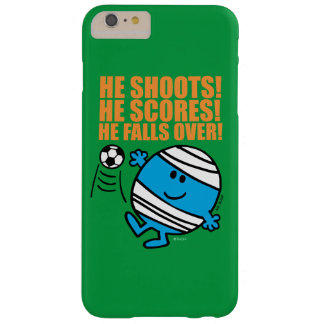 Mr. Bump Playing Soccer Barely There iPhone 6 Plus Case