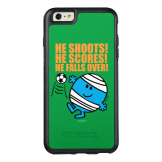 Mr. Bump Playing Soccer OtterBox iPhone 6/6s Plus Case