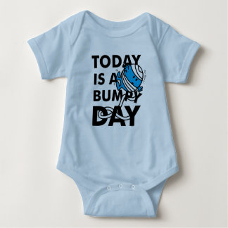 Mr. Bump | Today is a Bumpy Day Baby Bodysuit