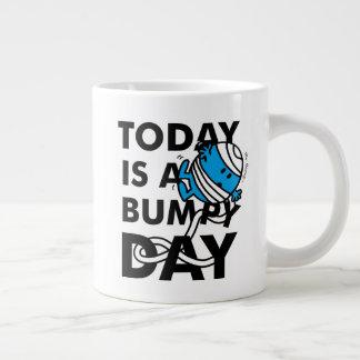 Mr. Bump | Today is a Bumpy Day Large Coffee Mug