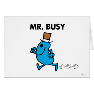 Mr Busy Classic 1 Cards
