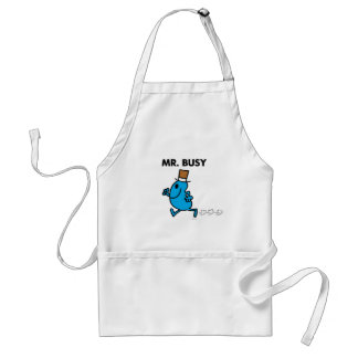 Mr. Busy Running Quickly Standard Apron