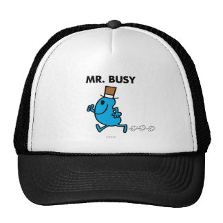 Mr. Busy Running Quickly Cap