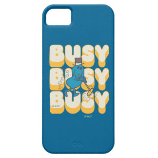 Mr. Busy Sweeping Quickly iPhone 5 Cases