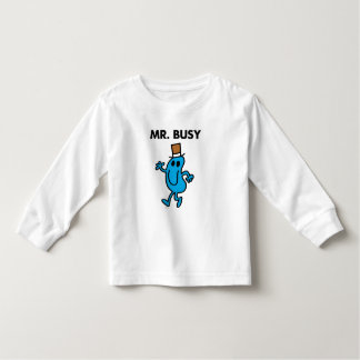 Mr. Busy Waving Hello Toddler T-Shirt