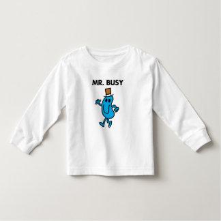 Mr. Busy Waving Hello T-shirts