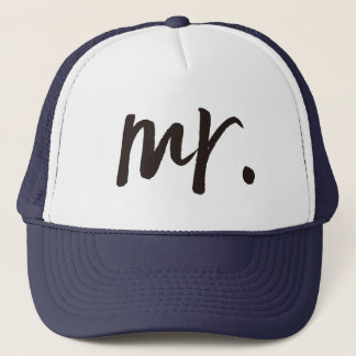 Mr. Calligraphy Personalized Trucker Hat