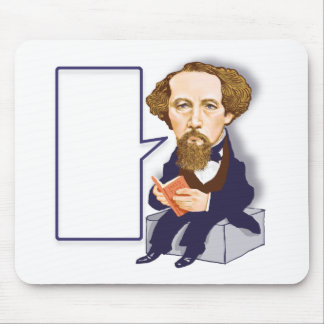 Mr Charles Dickens. Mouse Pad