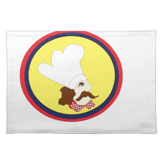 mr chef cartoon edition placemat