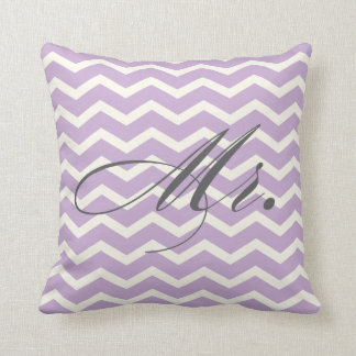 Mr. Chevron Stripes American MoJo Pillow Cushions