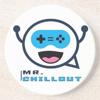 Mr. Chillout Sandstone Coaster