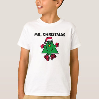 Mr. Christmas | Festive Hat & Gloves T Shirts