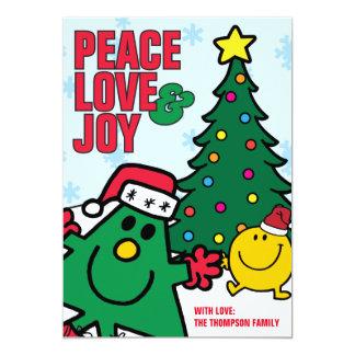 Mr Christmas | Happy Holidays! 13 Cm X 18 Cm Invitation Card