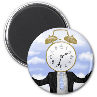 """""""Mr. Clock"""" Magnet"""