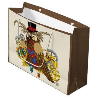 Mr.Clockwork Large Gift Bag