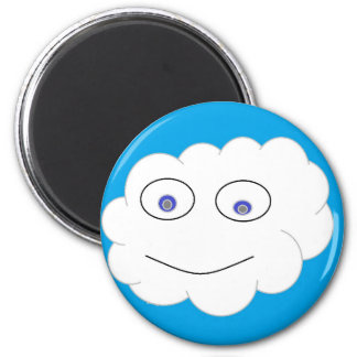 mr cloud refrigerator magnet