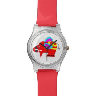 Mr. Colorful elephant Watch