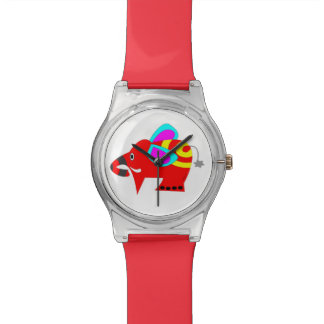 Mr. Colorful elephant Wrist Watch